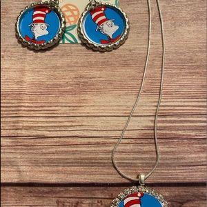 Dr Seuss jewelry set